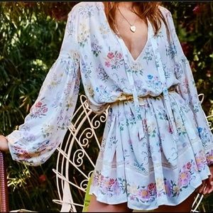 Spell & The Gypsy Collective Posy Mini Dress S NWT